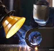 Fume Arm On Welding Fume Min