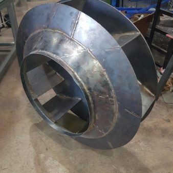 Impeller In Fabrication